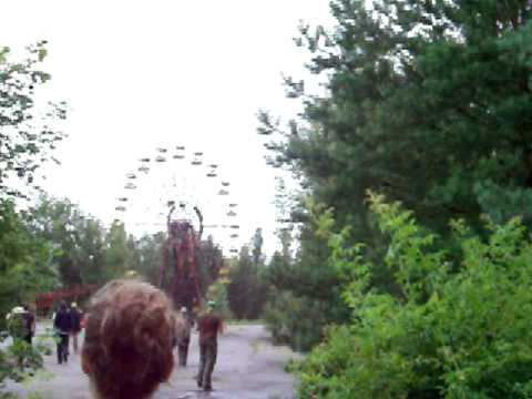 Abandoned amusement park of Pripyat