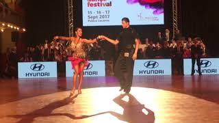 Yan Sorokin & Veronika Karimova, Final solo Jive, WDSF World Open Prague 2017