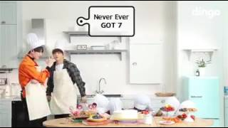 GOT7- Never ever (Cooking live)