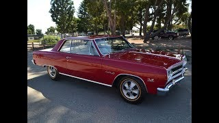SOLD 1965 Regal Red Chevelle Z16 Coupe, 4-Speed for sale by Corvette Mike