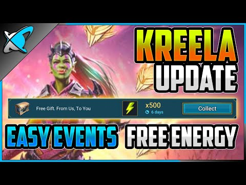 *WARNING* Save Your Energy !! | Kreela Fragments Update | Easy Events ?! | RAID: Shadow Legends