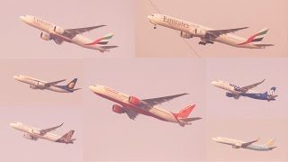 Smallies and Biggies taking off from Mumbai - a Photo and Video Compilation!