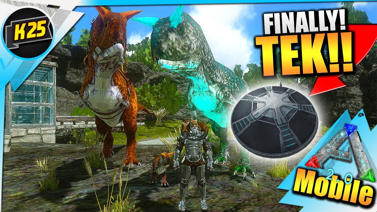 Kamz 25 - Finally! A TEK TELEPORTER + TAMING A MAX Carno Family!| Ep54 (BRUTAL SERIES) Ark Mobile