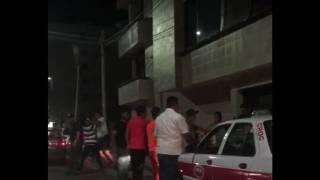 Se suscita pelea afuera de Barrilitos, Veracruz.