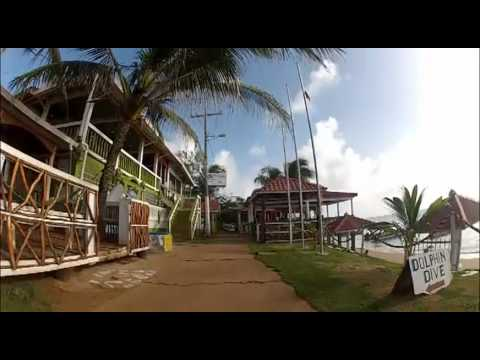 Walk around Little Corn Island – Video Tour – GoPro HD