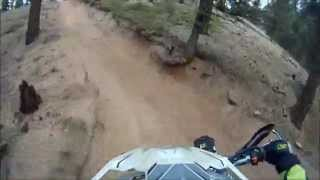 Rampart Range 650 Nuthin' but Hill climbing on KTM 500 EXC  Oct. 28, 2015