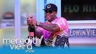 Flo Rida Teaches Meredith How To Make A Music Video! | The Meredith Vieira Show