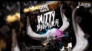 "One Voice - Dutty Behavior (Breaking Dawn Riddim) ""2017 Soca"" (Trinidad)"
