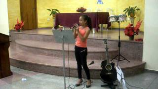 Sandy cantando Deus Forte Kleber Lucas
