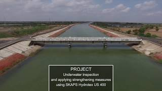 SKAPS HYDROTEX Form Fabric For Canal Lining