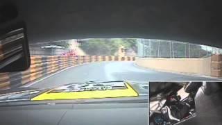 Maro Engel's hotlap of the Macau Grand Prix in the Erebus Motorsport SLS AMG GT3