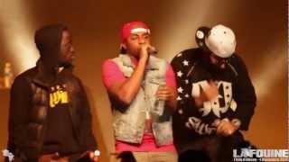 Jalousie (Concert LIVE) - La Fouine feat Fababy et Sultan