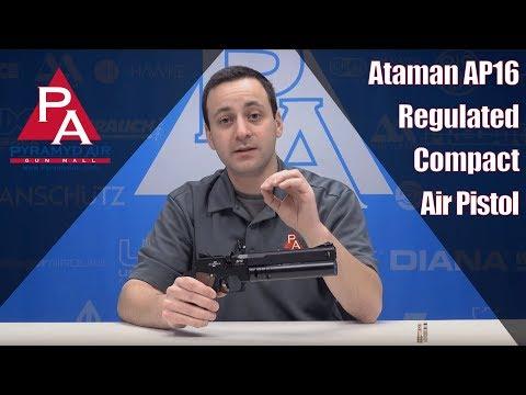 Video: Ataman AP16 Regulated Compact Air Pistol  | Pyramyd Air