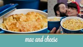 Mac and Cheese (macarrão ao queijo feito no forno) | Cozinha para 2