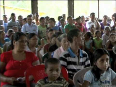 Misa/Gudstjeneste i Coyolar, Nicaragua