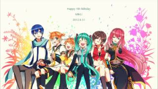 "VOCALOID: ""Birthday Song for Miku"" [HD & MP3]"