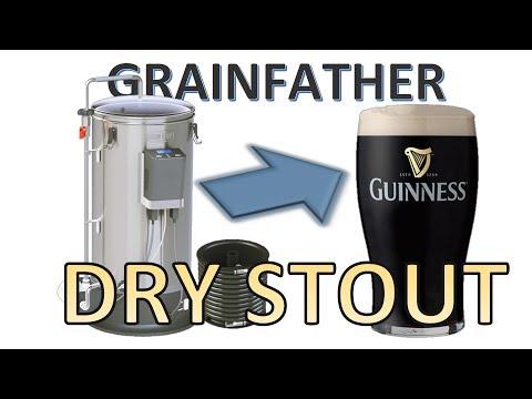 DRY STOUT и ЛАЙФХАКИ на пивоварне Grainfather