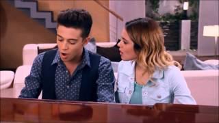 Violetta en Federico zingen ''Nel mio mondo''