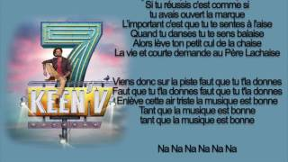 keen'v - tant que la musique ( officiel video lyrics )