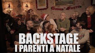 I PARENTI A NATALE (BACKSTAGE) casa surace