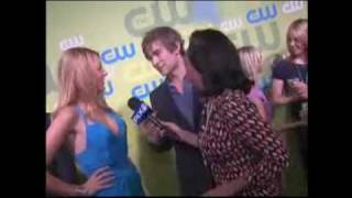 Blake Lively and Chace Crawford. CW upfronts