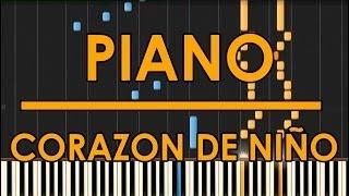 Corazon de Niño | Raul Di Blasio | Piano Cover