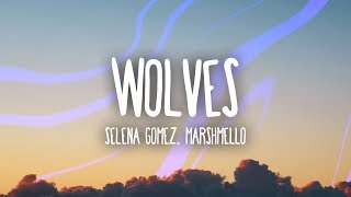 Selena Gomez, Marshmello - Wolves (Lyrics) width=