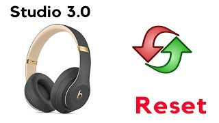 How to Reset Beats Studio 3 Wireless Headphones Red Light Blinking