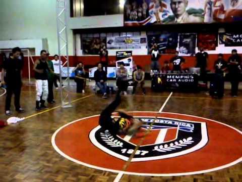 Escena Bboy Nicaragua – Bboy City Centroamerica – Bboy King (Nicaragua) Vs Bboy-Charu (Panama) Final