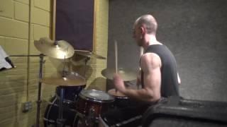 Bad Royale ft Hashim & Darnella - Company - Drum cover/mini shed