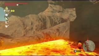 Zelda BOTW - Trivia: standing in lava and dizziness