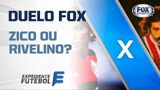 ZICO X RIVELLINO DUELO FOX CLÁSSICO!