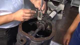 Como fazer o ajuste da profundidade do pinhão