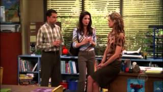 Two and a Half Men - Jake Flipped Off His Teacher [HD]