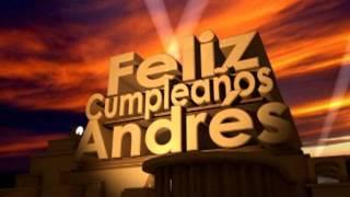 Feliz Cumpleaños Andrés
