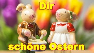 🐰🌼 Dir wünsche ich schöne Ostern, Ostertage und will Dir sagen: Schön dass es Dich gibt 🐰🌼 -