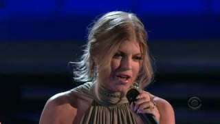 Fergie Finally live on Grammys 2008