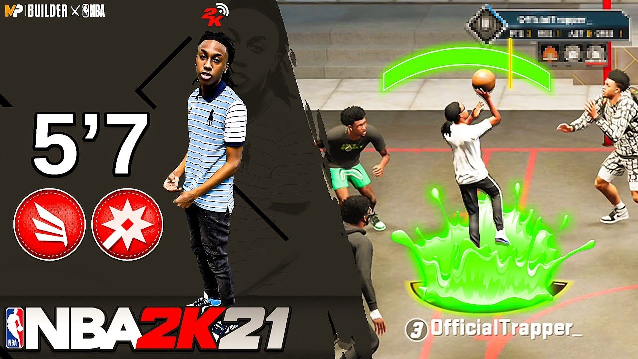 Ya Boi Tonio - I Made My IRL BUILD In NBA 2k21 Next Gen but... it SUCKS!😆 5'7 Inside Out Playmaker!