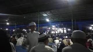 Ustadz singo wali songo hadir ceramah magrib di markaz ,Muntasik ,malm jum'at 14 desember 2018