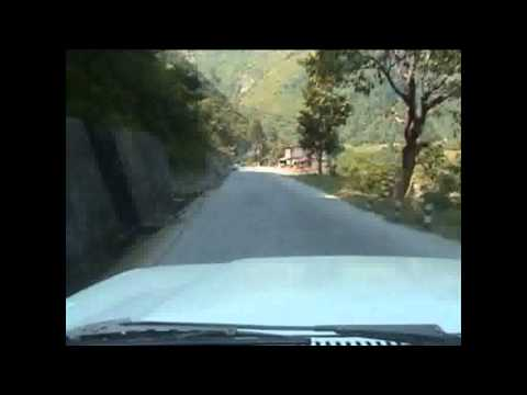 Harrowing Nepal Ride.wmv