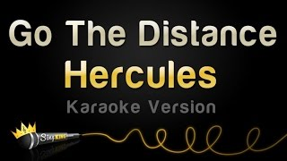 Hercules - Go The Distance (Karaoke Version)