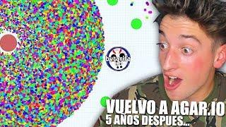 VUELVO A AGAR.IO DE LA FORMA MÁS ÉPICA!! BYTARIFA GAMING