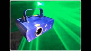 【X1派對娛樂】專業燈光音響出租 編號:L006 綠光雷射燈(強效型)出租