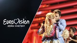 Monika Linkytė and Vaidas Baumila - This Time (Lithuania) - LIVE at Eurovision 2015 Grand Final