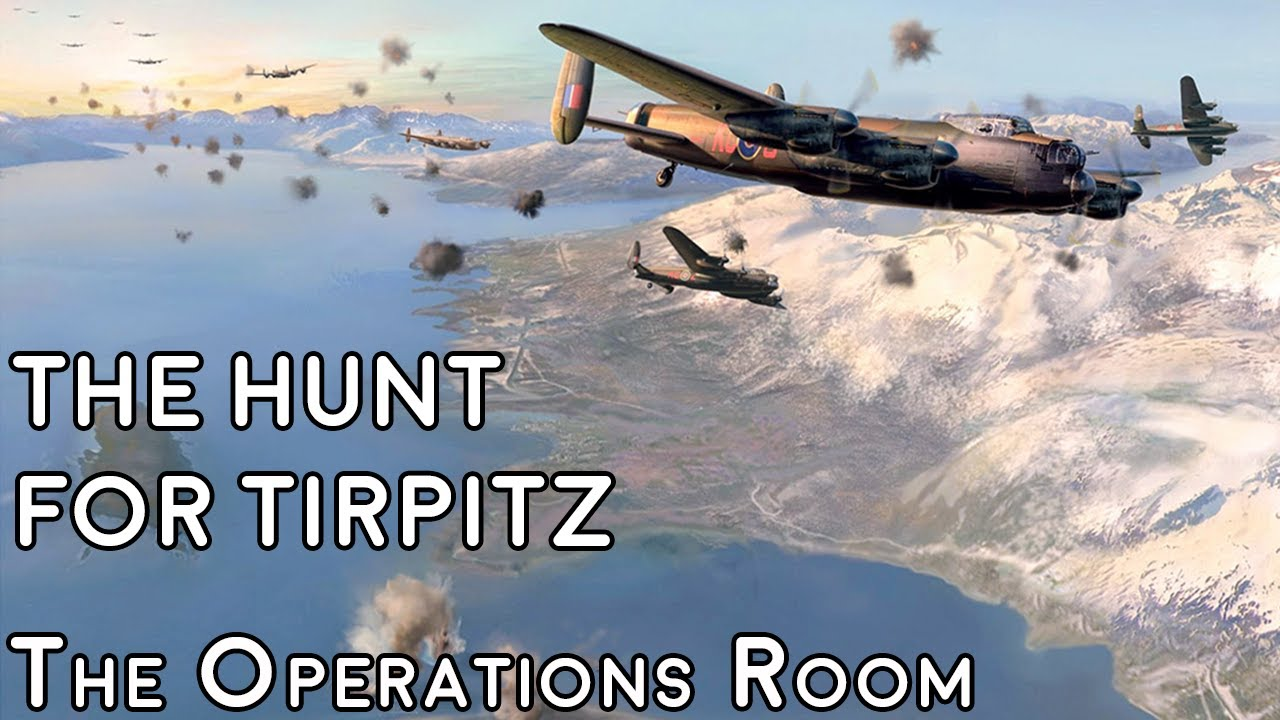 The Hunt for Tirpitz, 42-44 - Animated