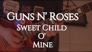 "Guns N' Roses ""Sweet Child O' Mine"" (Slash) Os Maiores Solos - Fabio Lima"