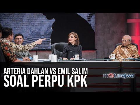 Download Video Ragu-Ragu Perpu: Arteria Dahlan VS Emil Salim Soal Perpu KPK (Part 4) | Mata Najwa