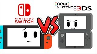 Nintendo Switch vs New 3DS XL | Kabloosh Animations