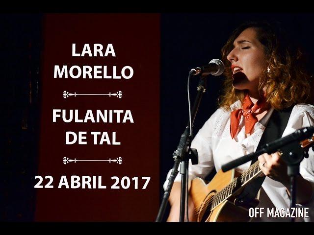 Vídeo de un concierto en Fulanita de Tal.