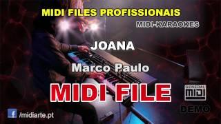 ♬ Midi file  - JOANA - Marco Paulo